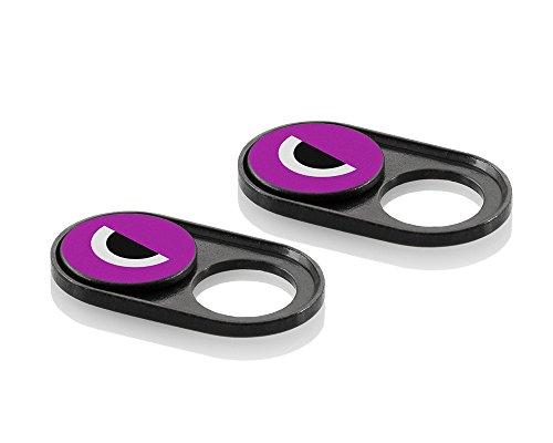 soomz Webcam Cover, Ultra-dünn für Laptop, PC, MacBook, iPhone, iPad, Smartphone, Schützt Ihre Privatsphäre + Sicherheit, Schiebe-Abdeckung – einfache Handhabung & starker Kleber – hohe Qualität