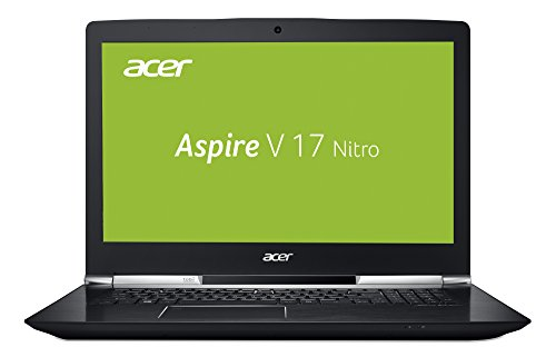 Acer Aspire V 17 Nitro Black Edition VN7-793G-75U0 43,9 cm (17,3 Zoll Full-HD IPS matt) Gaming Laptop (Intel Core i7-7700HQ, 16GB RAM, 512GB SSD, GeForce GTX 1060, Win 10) schwarz
