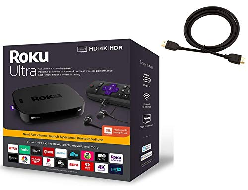 Roku Ultra Streaming Media Player 4K/HD/HDR