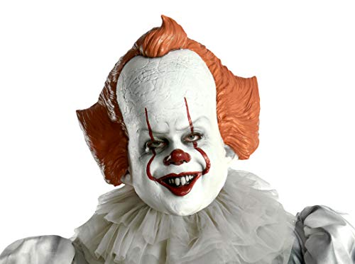 Rubie's IT Movie Chapter 2 Pennywise Vinyl Mask, As Shown, One Size