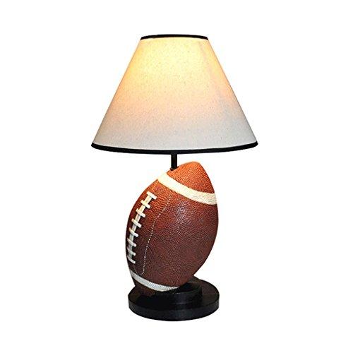 Fu Man Li Trading Company Salle de séjour pastorale européenne créative chambre enfant éclairage étude lampe de table de rugby lampe de chevet A+