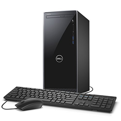 2019 Newest Dell Inspiron Premium Desktop: Latest 9th gen Intel Six-Core i5-9400, 12GB Ram, 128GB SSD + 1TB HDD Dual Drive, WiFi, Bluetooth, DVDRW, HDMI, VGA, USB Keyboard and Mouse, Windows 10 Home
