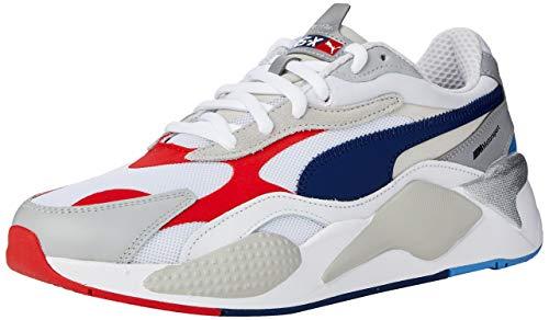 PUMA Herren BMW MMS Rs-Cube Sneaker, Weiß White-Gray Violet-Marina 01, 42 EU