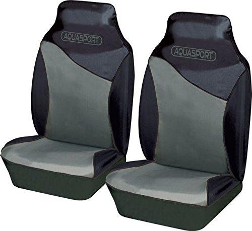 Fundas para asiento delantero Aquasport, (2 unidades), tejido a prueba de agua, resistente a desgarr