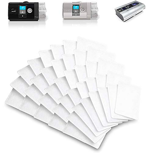 Resmed Airsense 10 Filters - 40 Packs, Disposable Universal Replacement Filters CPAP Filters for ResMed AirSense 10 - ResMed AirCurve 10 - ResMed S9 - AirStart - Series CPAP Machines