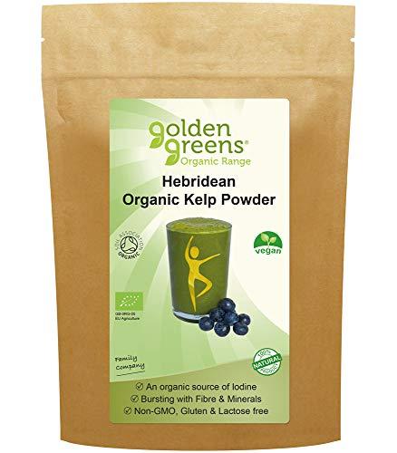 Golden Greens Organic Hebridean Kelp Powder