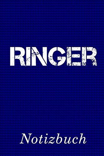 Ringer Notizbuch: | Notizbuch mit 110 linierten Seiten | Format 6x9 DIN A5 | Soft cover matt |