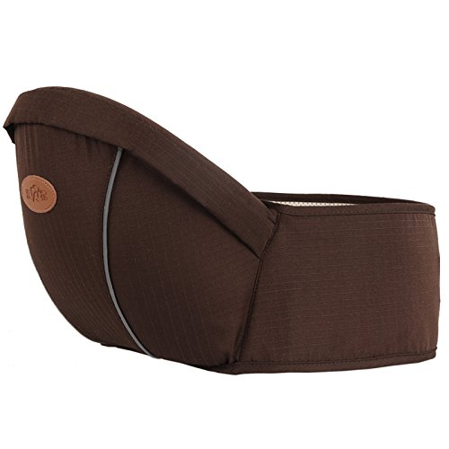 Romote- Baby HipSeat Gürtel Infant Kleinkind Taille Hocker Strap Outdoor BC10, Braun