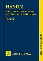 Symphony G major Hob. I:94 (Surprise): Instrumentation: Orchestral works