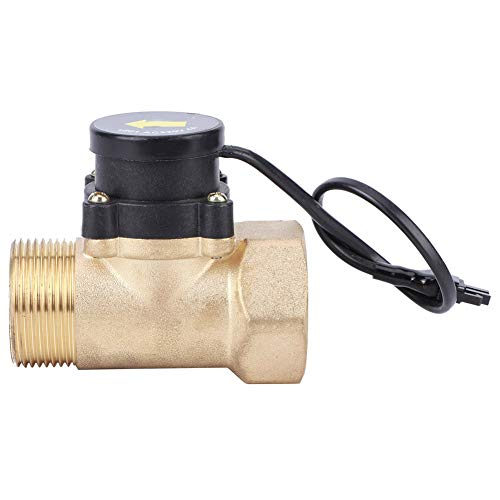 HT801 220V Wasserpumpen-Durchflusssensor Messing Automatischer Druckautomatikschalter