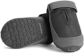 RUFFWEAR, Summit Trex Everyday Dog Boots with Rubber Soles for Walking, Twilight Gray, 2.25 in (2 Boots)