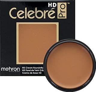 Mehron Makeup Celebre Pro-HD Cream Face & Body Makeup (0.9 oz) (MEDIUM DARK 2)