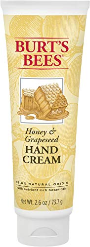 Burt's Bees Hand Cream, (Package May Vary) Honey & Grapeseed Oil 2.6 Ounce