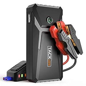 TACKLIFE T8 Mix Arrancador de Coche – 500A 12000mAh arrancador de baterias de Coche (hasta 4.0L Gas o 2.0L Diesel), con…