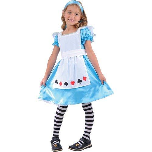 Storybook Alice costume. Robe, tablier et le bandeau. Grands 8-10 ans. Hauteur 134cm à 144 cm.