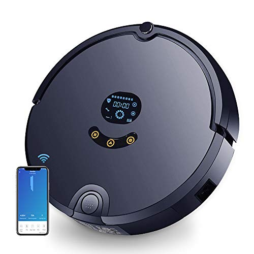 Buy Discount FENGRUI FR-S Robot Vacuum Cleaner with Docking Station 1200Pa Strong Suction Quiet Self...