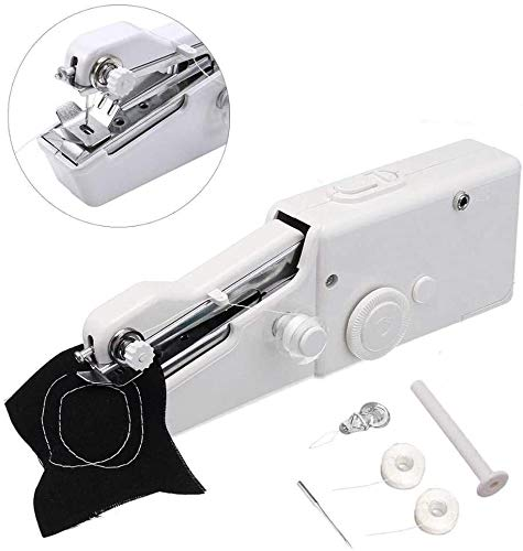 ETH Mini Electric Tailor Stitch Hand-held Sewing Machine,Small Portable Handheld Sewing Machine...
