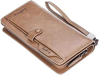 محفظة طويلة للرجال من بايليري للبطاقات والنقود اللون بني