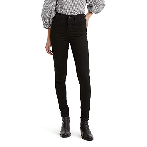 Levi's Women's 720 High Rise Super Skinny Jeans Pants, -black forest night, 28 (US 6) R