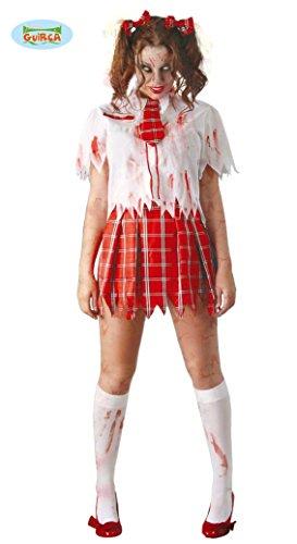 Fiestas Guirca Collègienne Zombie Adulte m 38-40 Costume pour Adulte