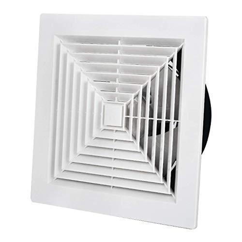 Extractor De Baño, Ventilador de extractor de baño, ventilador de extractor de cocina ventilador de techo incorporado, baño/cocina 12 pulgadas