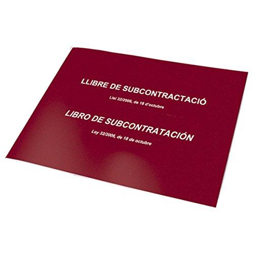 Dohe 9990 - Libro de subcontratación, catalán y Castellano