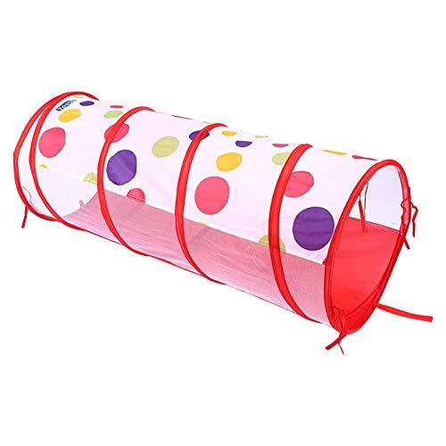 SALUTUYA Apprendre la Piscine à balles de Tunnel de Jouet Pop-up, l'interaction Parent-Enfant Enfants intérieur extérieur