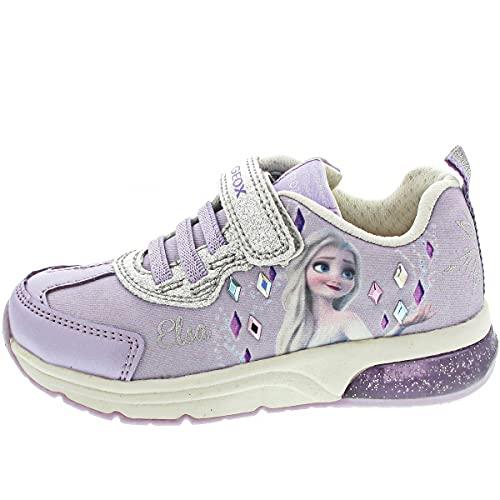 GEOX J SPACECLUB G Zapatos Deportivos para Nina Violeta J158VBC8456