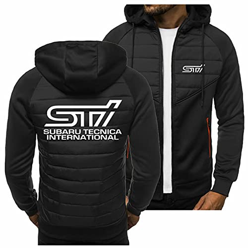 Sudadera con capucha para hombre - 3D Subaru Print Pullover manga larga Cardigan Casual Sports Jacket Baseball Uniform Coat