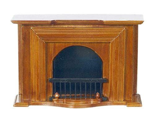 Melody Jane Puppenhaus Mahagoni Georgischer Kamin Miniatur 1:12 Wohnzimmer Möbel