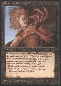 Magic: the Gathering - Touch of Darkness - Legends