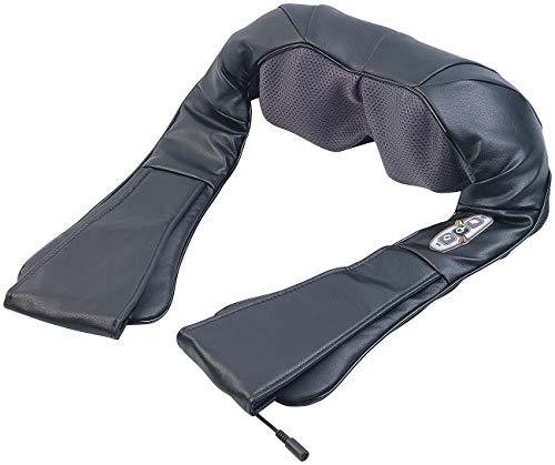 newgen medicals Nackenmassagegerät: Shiatsu-Massagegerät für Nacken und Schulter, IR-Tiefenwärme, 24 Watt (Shiatsu Nackenmassagegerät)