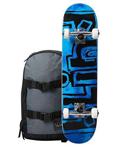 Blind Skateboard Complet Mid 7.25 OG Water Color Backpack Blue