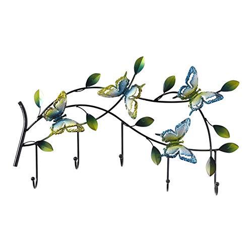 LSZ Wandgarderobe , Rustikales dekoratives AST-Design , 7 Haken, Badetuch Robe Rack, für Flur Wohnzimmer Schlafzimmer