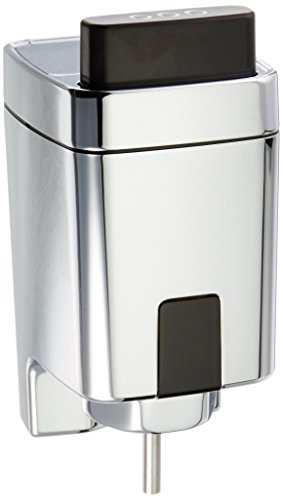 Sloan Valve EBV-500-A Single Flush Side-Mount Retrofit Kit for Water Closets and Urinals, CHROME/BLACK.1653407, 5X6X7IN