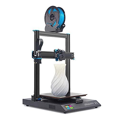 Artillery Sidewinder X1 3D Printer, Newest V4 Model Ultra-Quiet Lattice Glass Heat Bed Reset Button Filament Runout Sensor Failure Recovery 3D Printing, 300x300x400mm