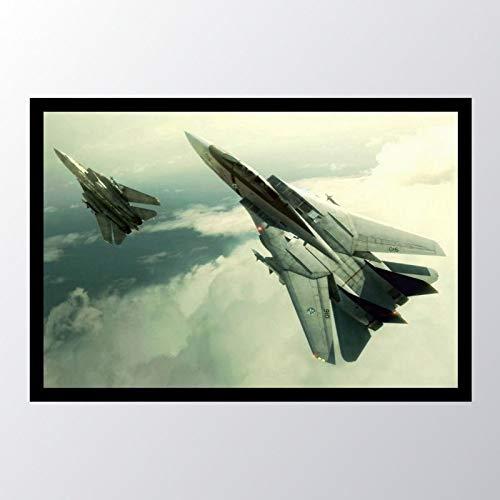 Quadro com moldura Ace Combat Tomcat F