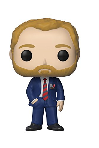 Funko Pop!- Royal Family Prince Harry Figura de Vinilo (21949)