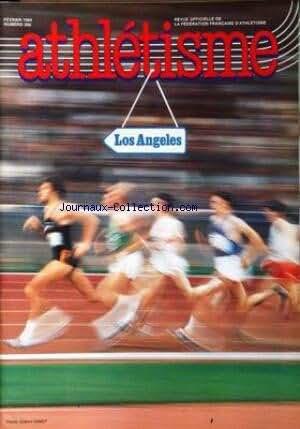 ATHLETISME [No 266] du 01/02/1984 - LOS ANGELES.