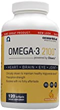 Ocean Blue Omega-3 2100-120 Softgels - Top-Rated Fish Oil - EPA - DHA