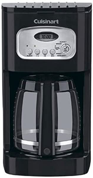 Cuisinart DCC 1100BK 12 杯可编程咖啡机黑色