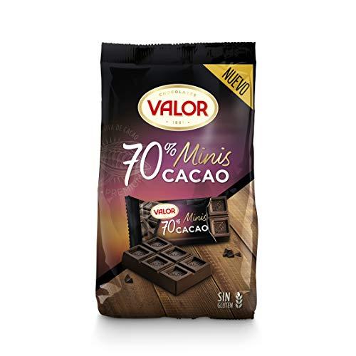 Chocolates Valor Minitabletas Negro 70% 200G 200 g
