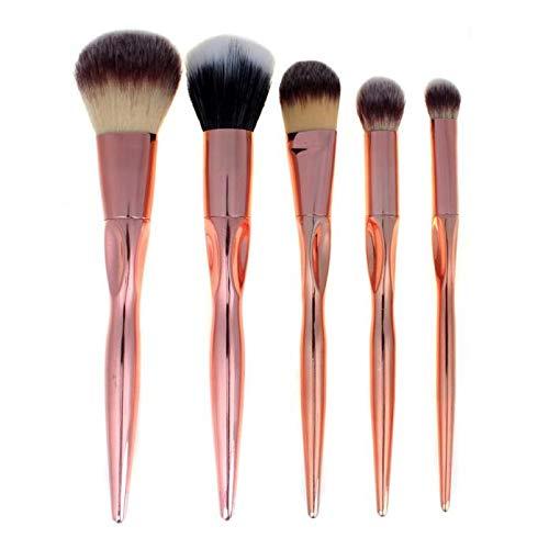 MEIYY Pinceau de maquillage Hot Women'S Fashion 5Pcs Cosmetic Makeup Brush Sets Soft Eyelashes Eyeshadow Brush Beauty Tool Drop Shipping