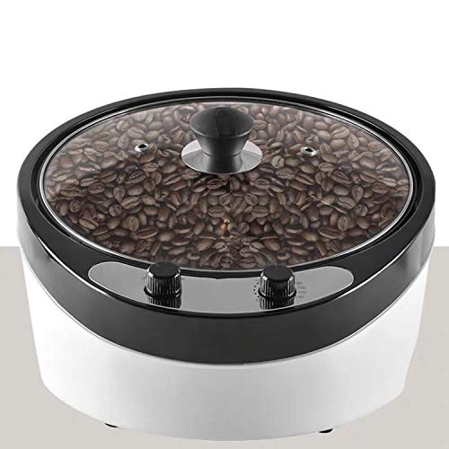 Coffee Bean Roaster Machine 2000W Coffee Roaster Commercial Standard 800G Coffee Bean Roasting Baking Machine For Coffee Shop and Home Use, Popcorn, Peanuts, Chestnut Sunflower Seed Roaster,110V