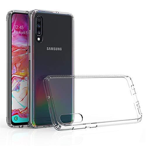 betterfon | Samsung Galaxy A70 / A70s Hülle Stoßfest Outdoor Transparent Cover Handy Silikon Hülle Schutz Tasche TPU Silikon Schutzhülle Für Samsung Galaxy A70 SM-A705/ A70s SM-A707