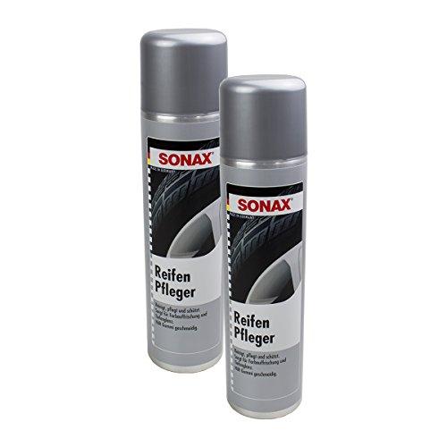 SONAX 2X 04353000 ReifenPfleger Reifen Reinigung Schaum Pflege 400ml