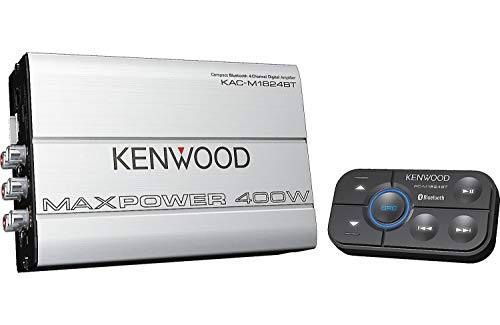 Kenwood 1177524 Compact Automotive/Marine Amplifier Class D...