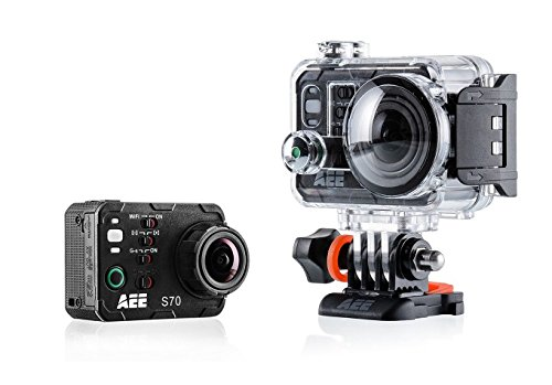 AEE Technology S70 S70AEE Waterproof Video Camera with 10x Digital Zoom with 2-Inch LCD (Black)