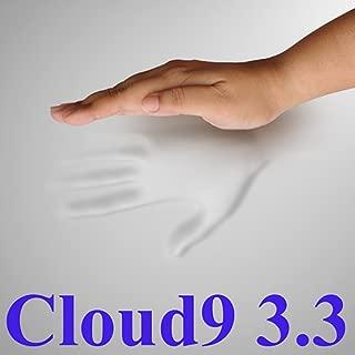 3.3 Cloud9 Full / Double 3 Inch 100% Visco Elastic Memory Foam Mattress Topper