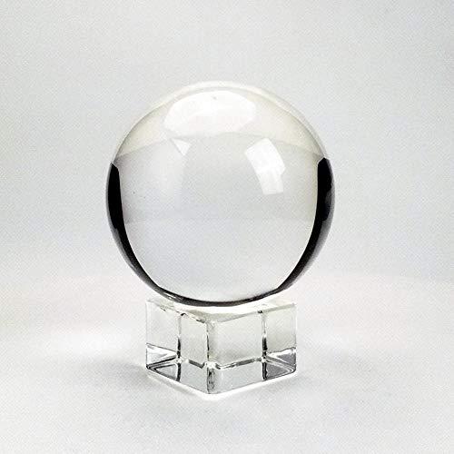 XLZYQ Bola De Cristal Transparente De 80 Mm con Bola De Cristal De Soporte Libre para Fotografía